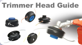 Husqvarna trimmer head guide