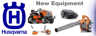 New Husqvarna mowers, chainsaws, trimmer and more